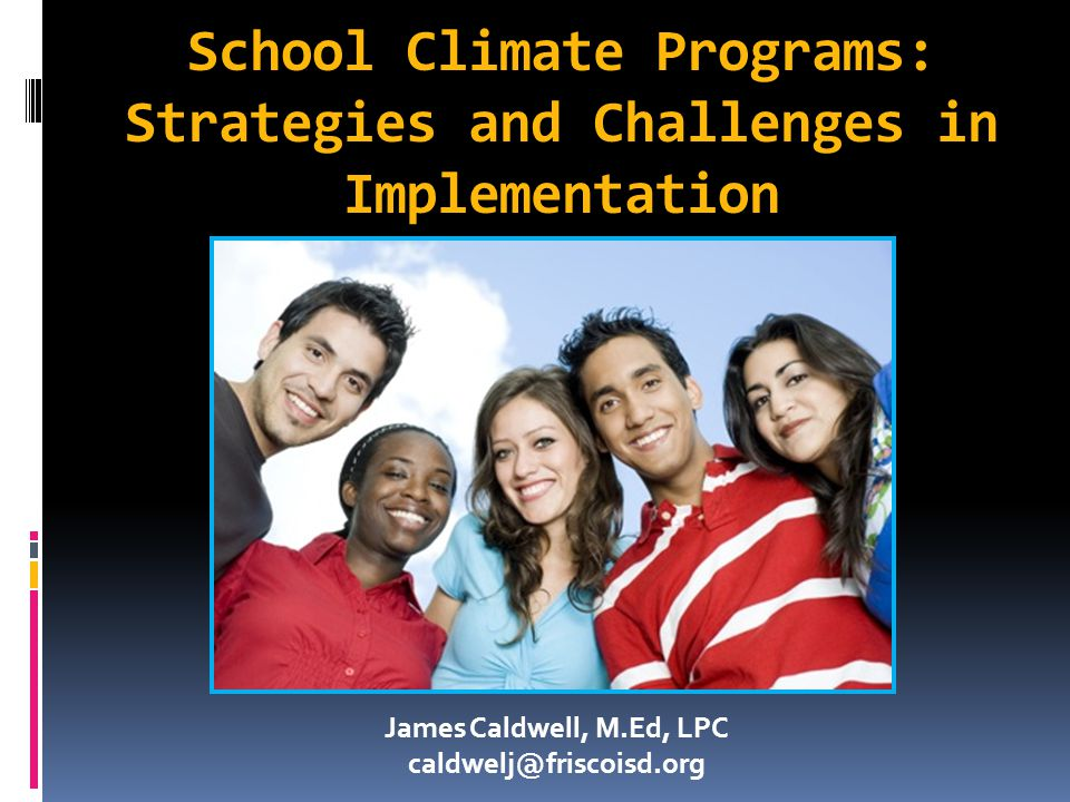 School Climate Programs: Strategies and Challenges in Implementation