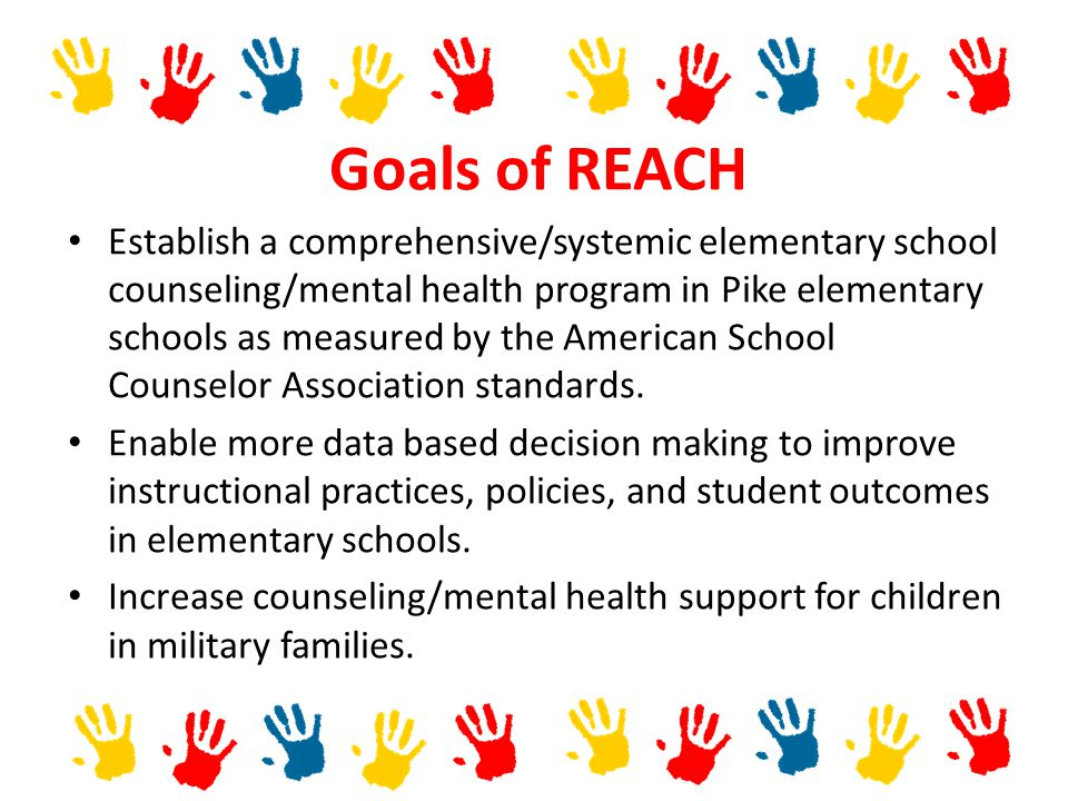 Goals of REACH