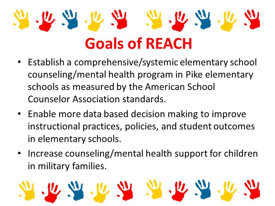 Goals of REACH