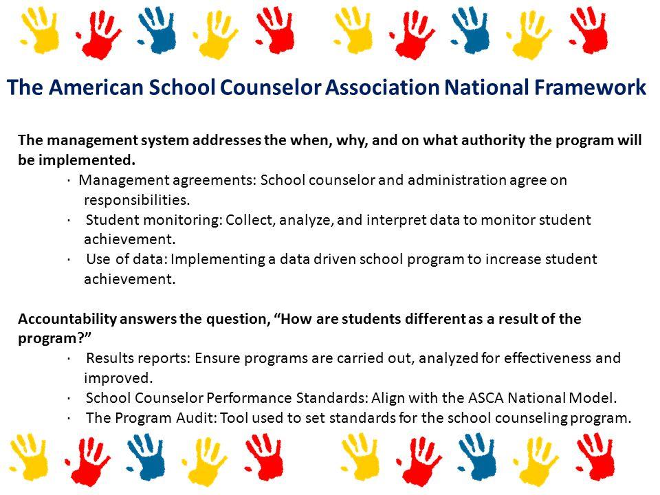 The American School Counselor Association National Framework