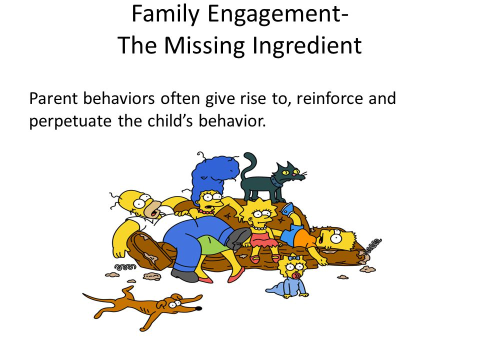 Family Engagement- The Missing Ingredient