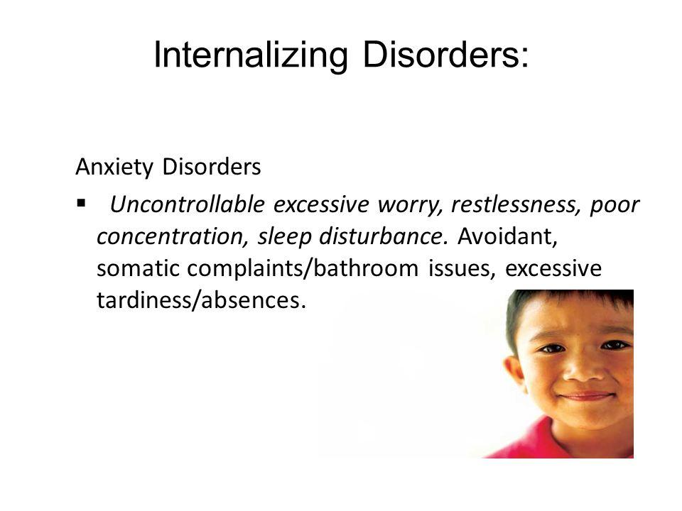 Internalizing Disorders: