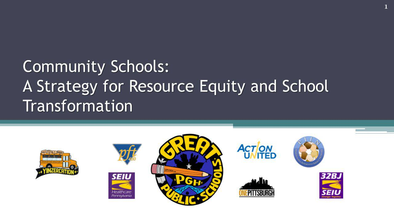 4/8/2017 Community Schools: A Strategy for Resource Equity and School Transformation