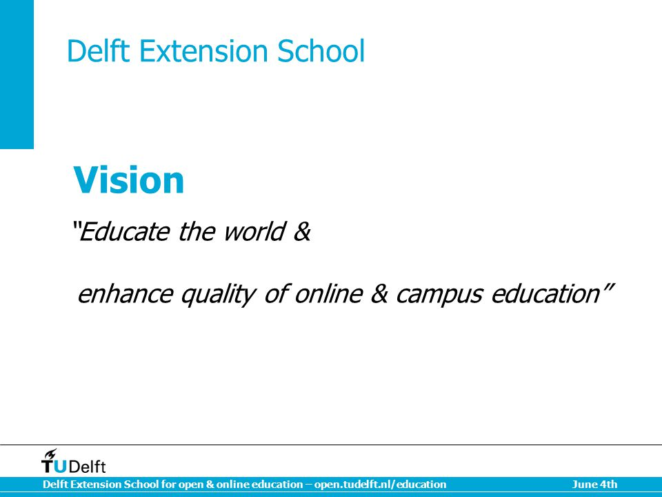 Delft Extension School
