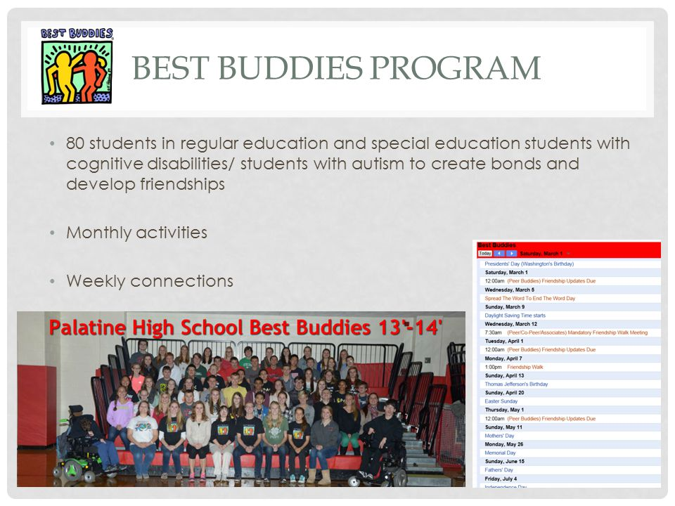 Best Buddies Program