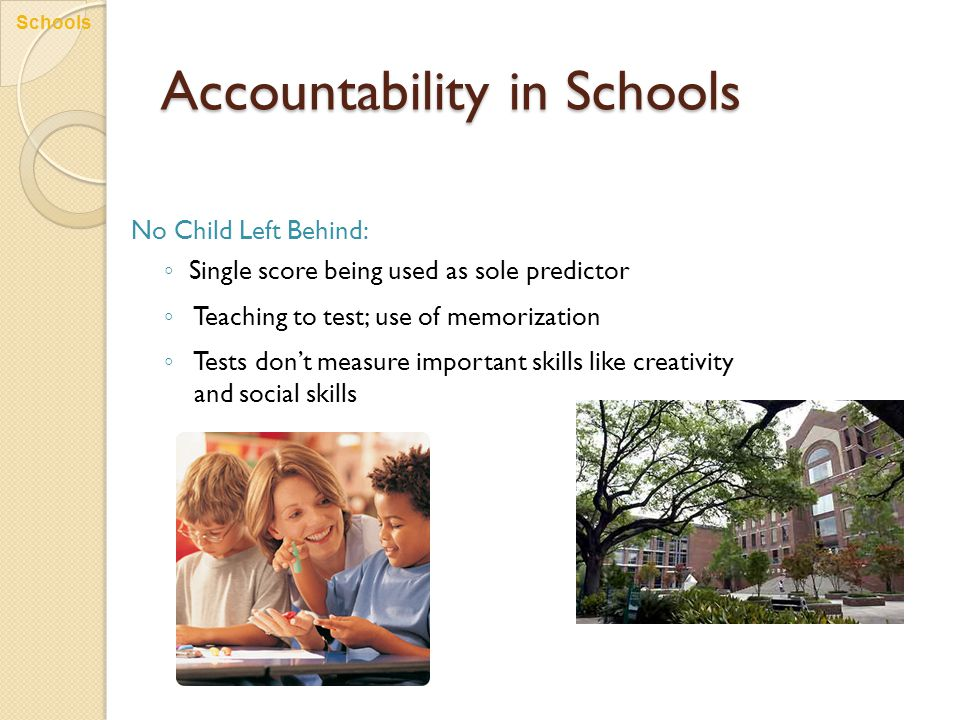 Accountability in Schools