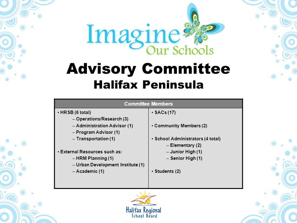 Advisory Committee Halifax Peninsula