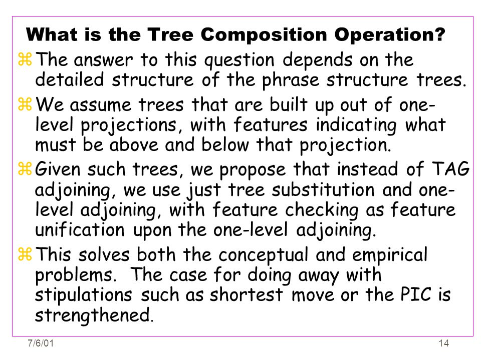 What is the Tree Composition Operation