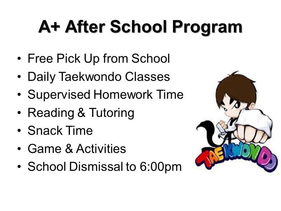 A+ After School Program
