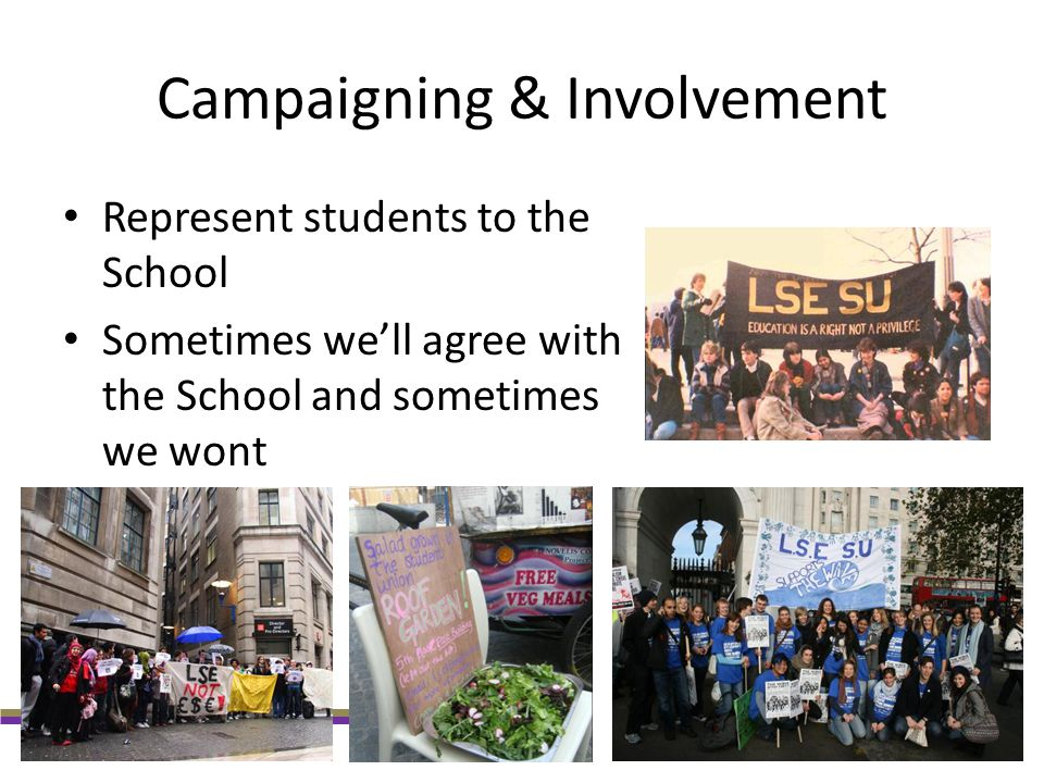 Campaigning & Involvement
