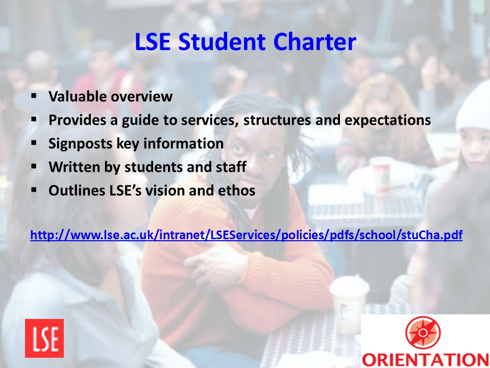 LSE Student Charter Valuable overview