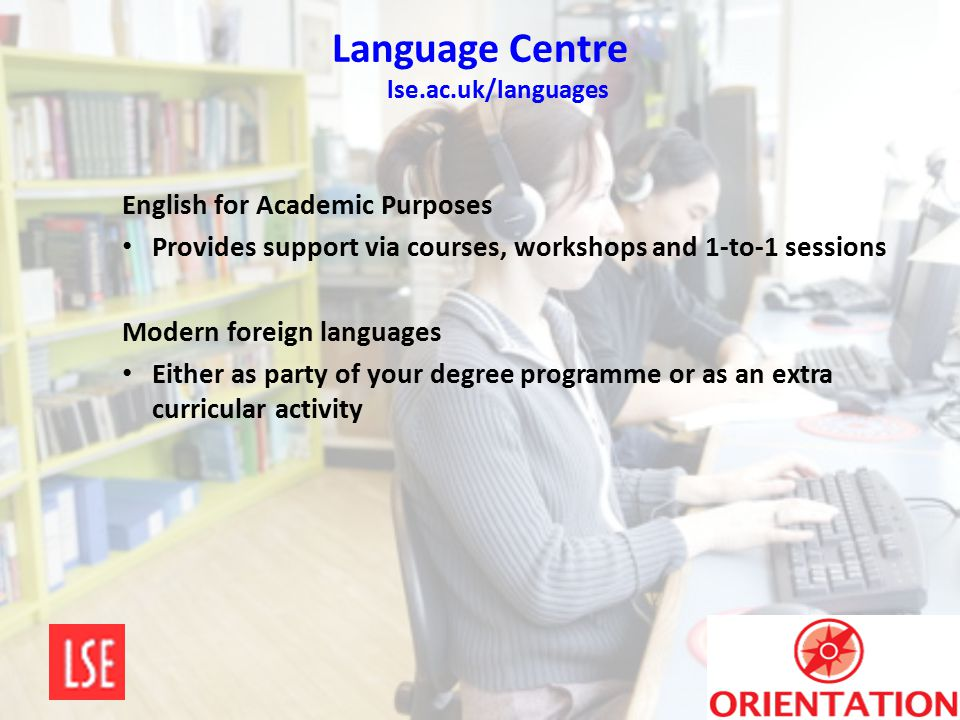 Language Centre lse.ac.uk/languages