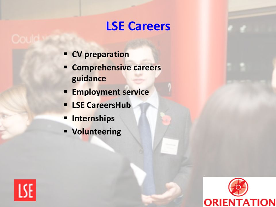 LSE Careers CV preparation Comprehensive careers guidance