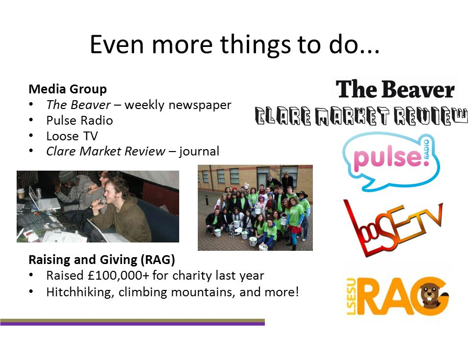 Even more things to do... Media Group The Beaver – weekly newspaper