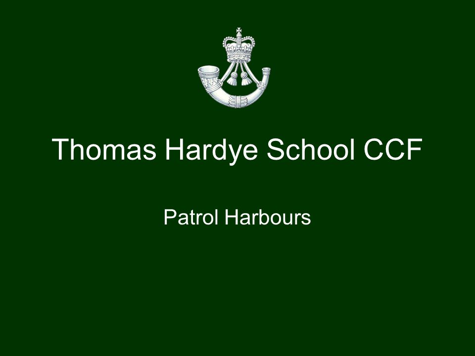 Thomas Hardye School CCF