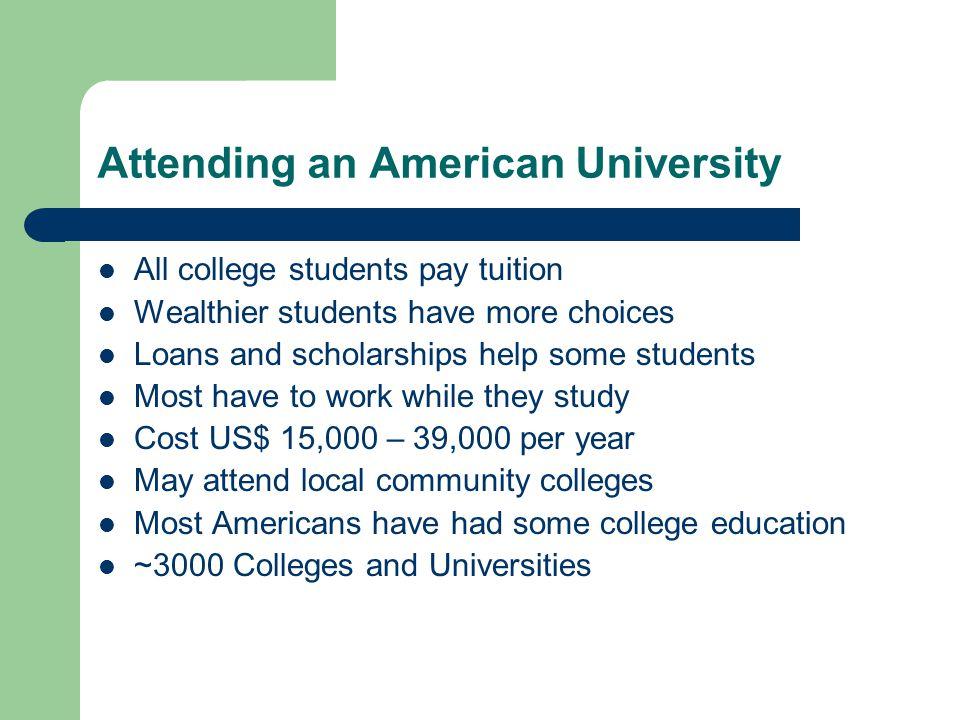 Attending an American University