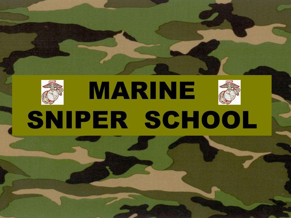 MARINE SNIPER SCHOOL