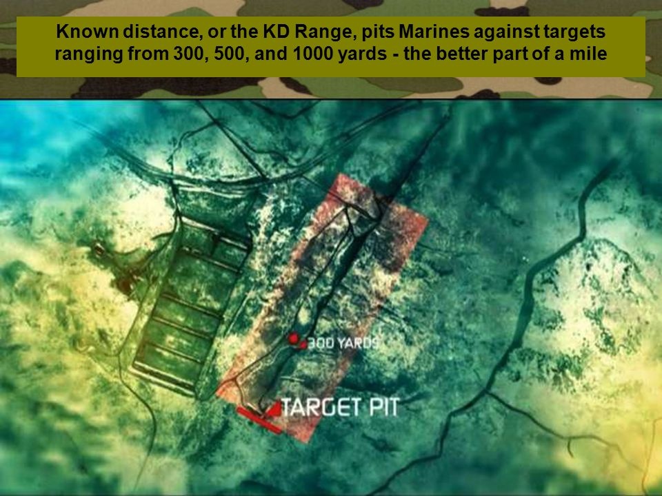 Known distance, or the KD Range, pits Marines against targets ranging from 300, 500, and 1000 yards - the better part of a mile