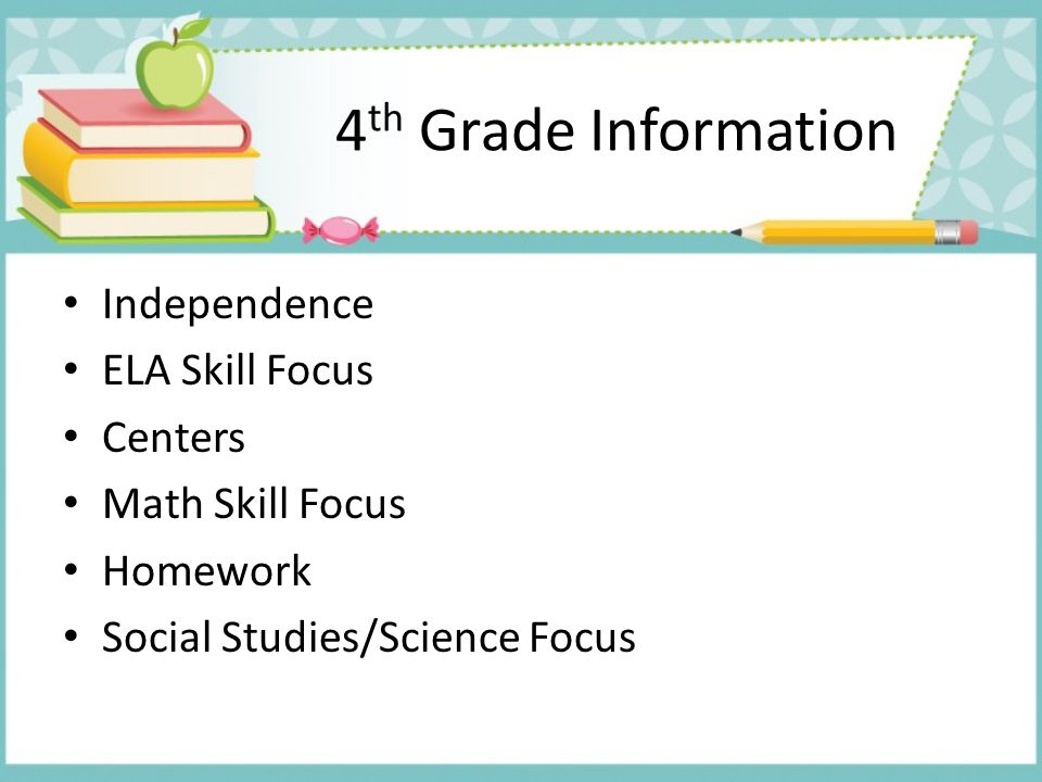 4th Grade Information Independence ELA Skill Focus Centers