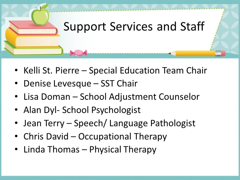 Support Services and Staff