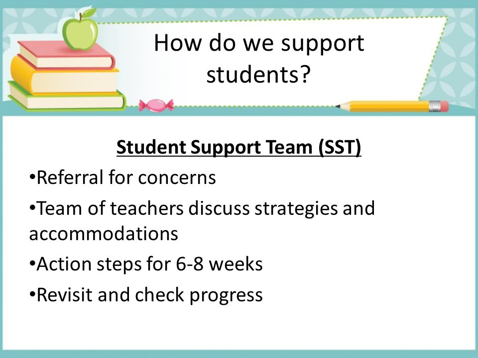 How do we support students
