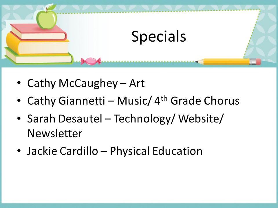 Specials Cathy McCaughey – Art