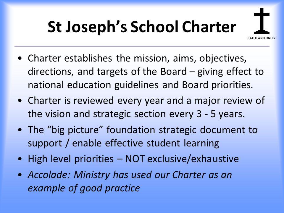 St Joseph's School Charter