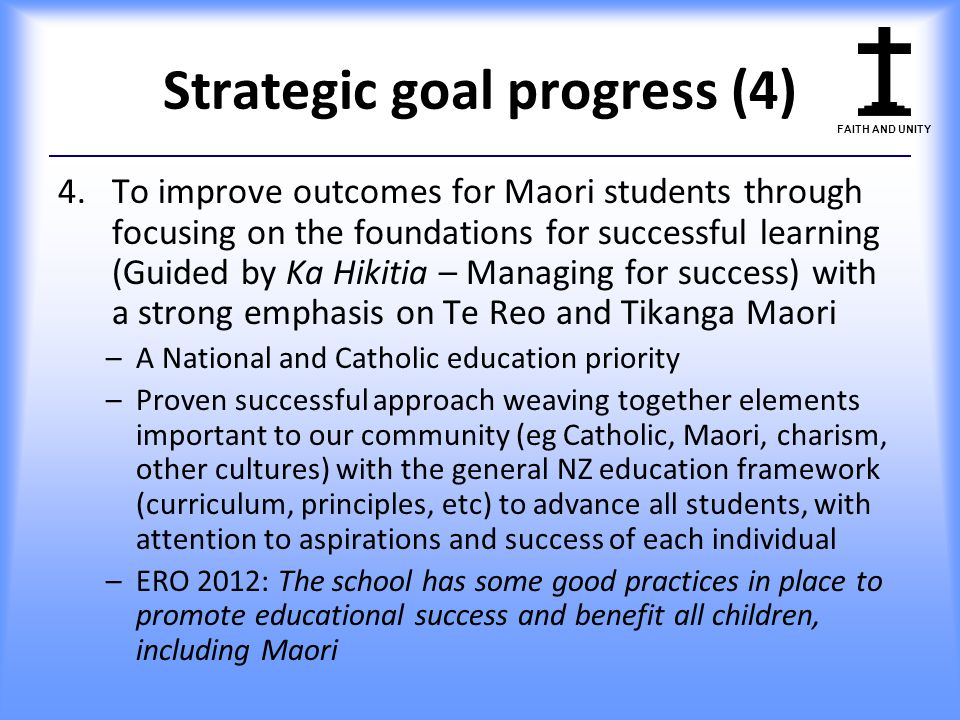 Strategic goal progress (4)