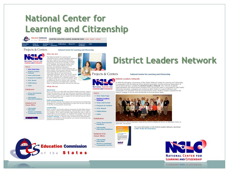 National Center for Learning and Citizenship