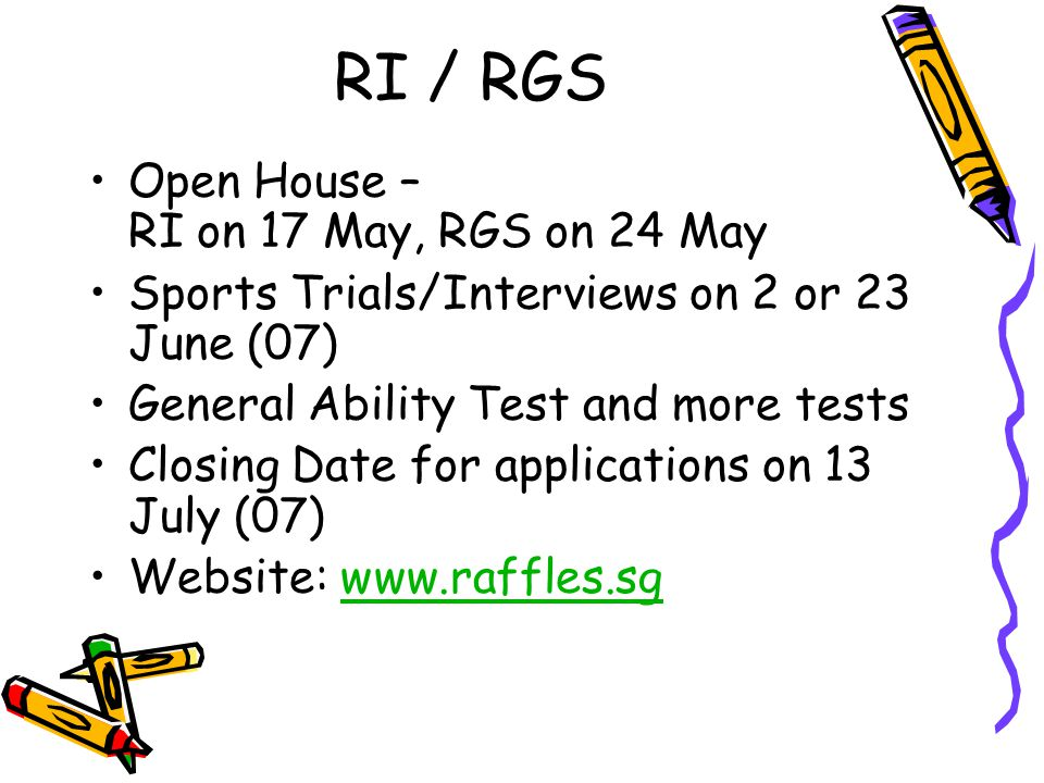 RI / RGS Open House – RI on 17 May, RGS on 24 May