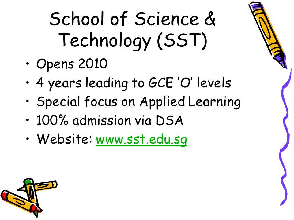 School of Science & Technology (SST)