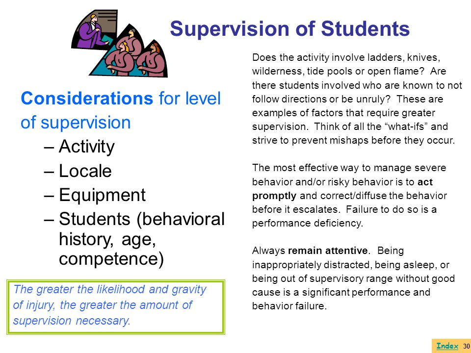 Supervision of Students