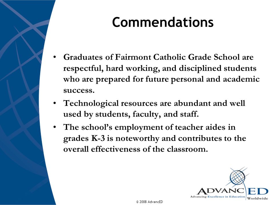 Commendations