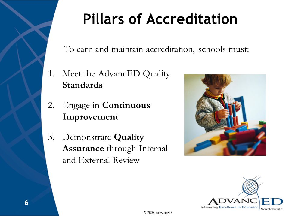 Pillars of Accreditation