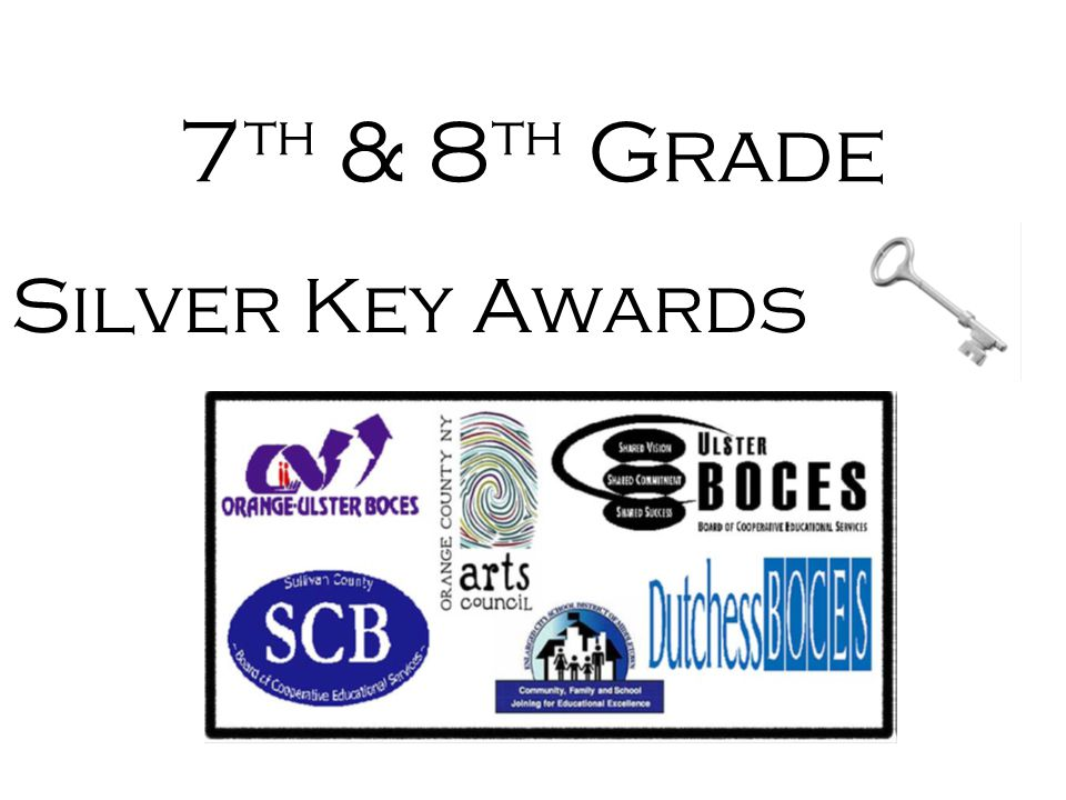 7th & 8th Grade Silver Key Awards