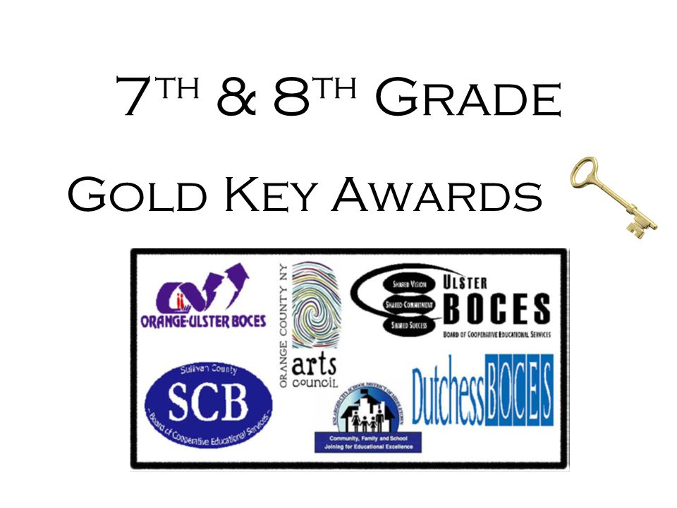 7th & 8th Grade Gold Key Awards