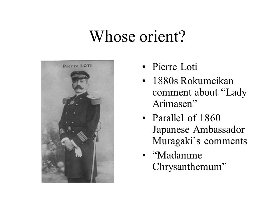 Whose orient Pierre Loti