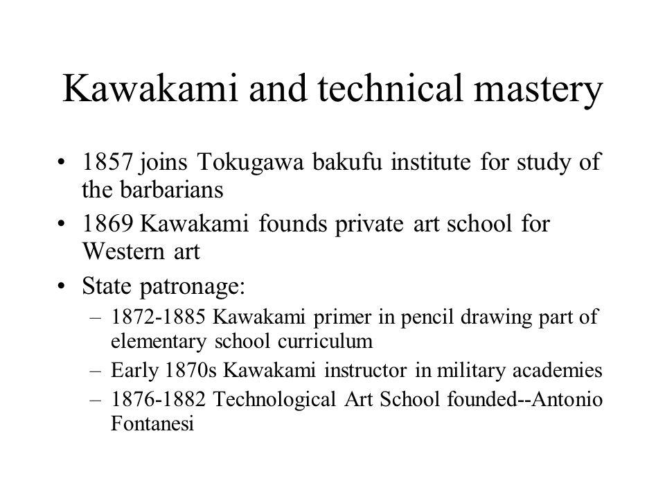 Kawakami and technical mastery