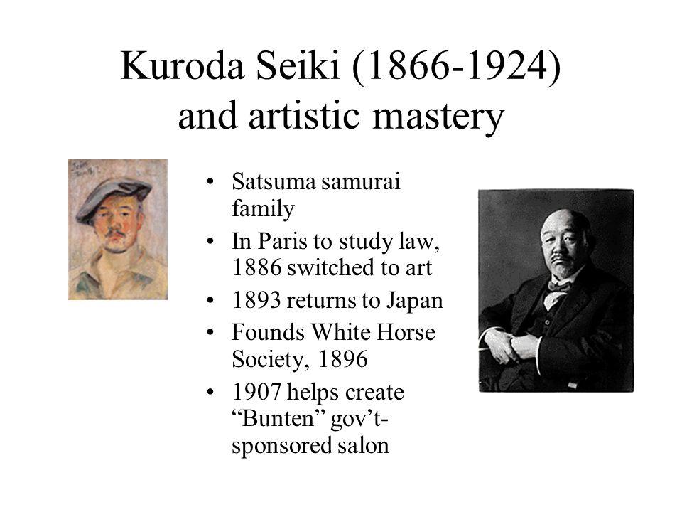 Kuroda Seiki (1866-1924) and artistic mastery