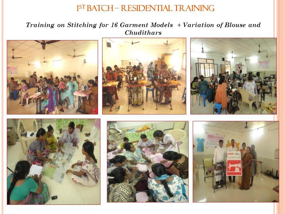 1st Batch – Residential Training
