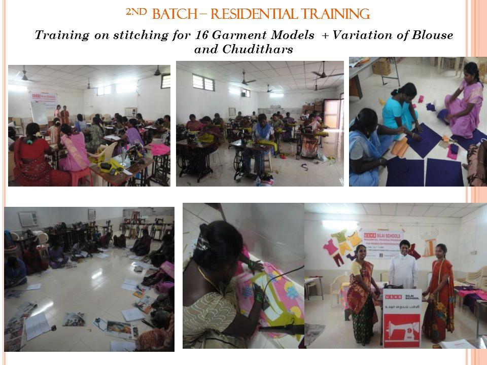 2nd Batch – Residential Training