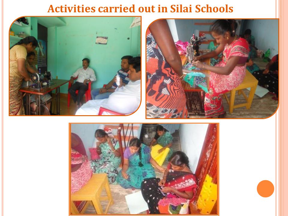 Activities carried out in Silai Schools