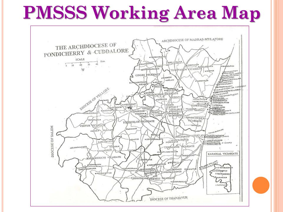 PMSSS Working Area Map