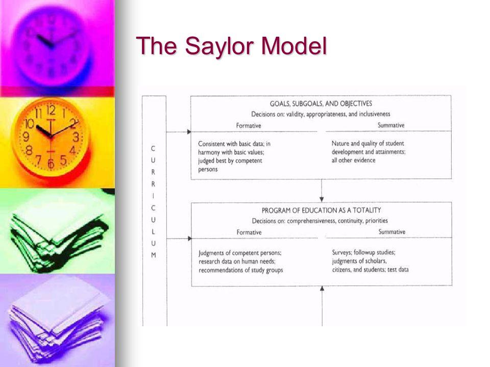 The Saylor Model