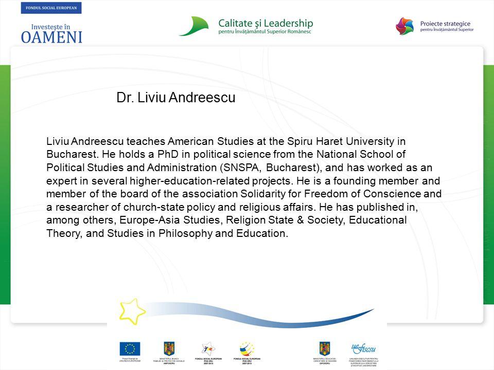 Dr. Liviu Andreescu