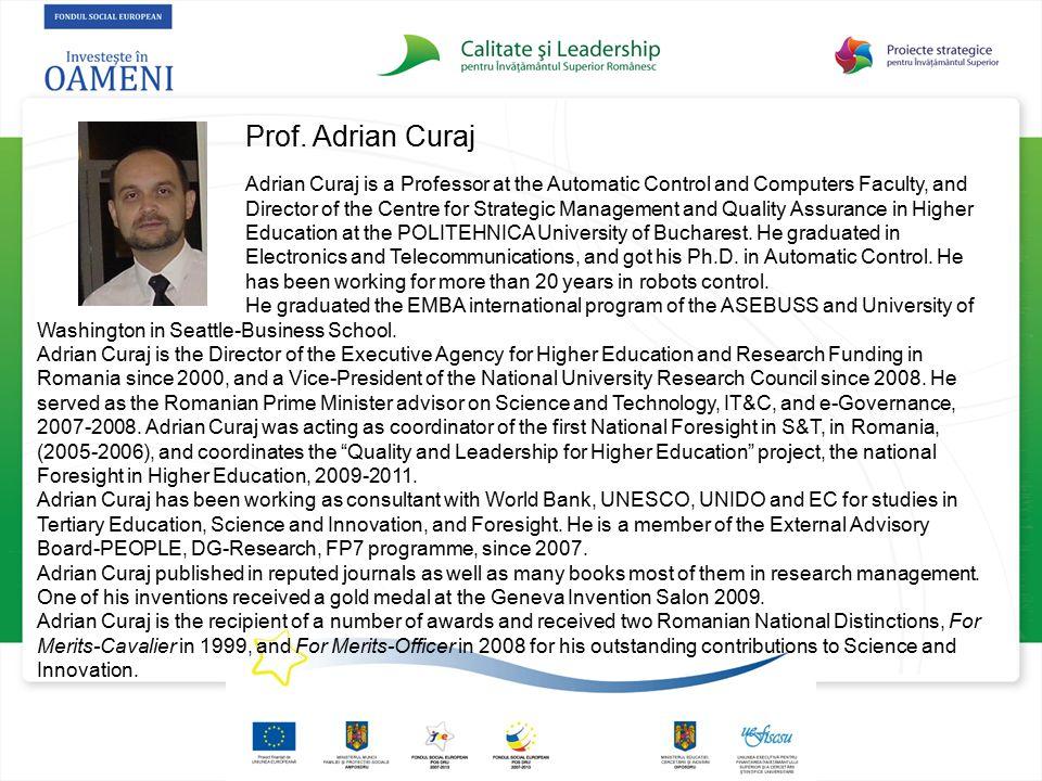 Prof. Adrian Curaj