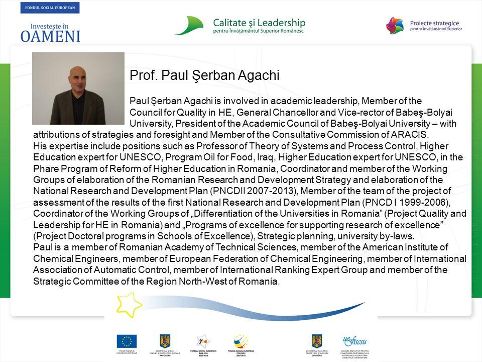 Prof. Paul Şerban Agachi
