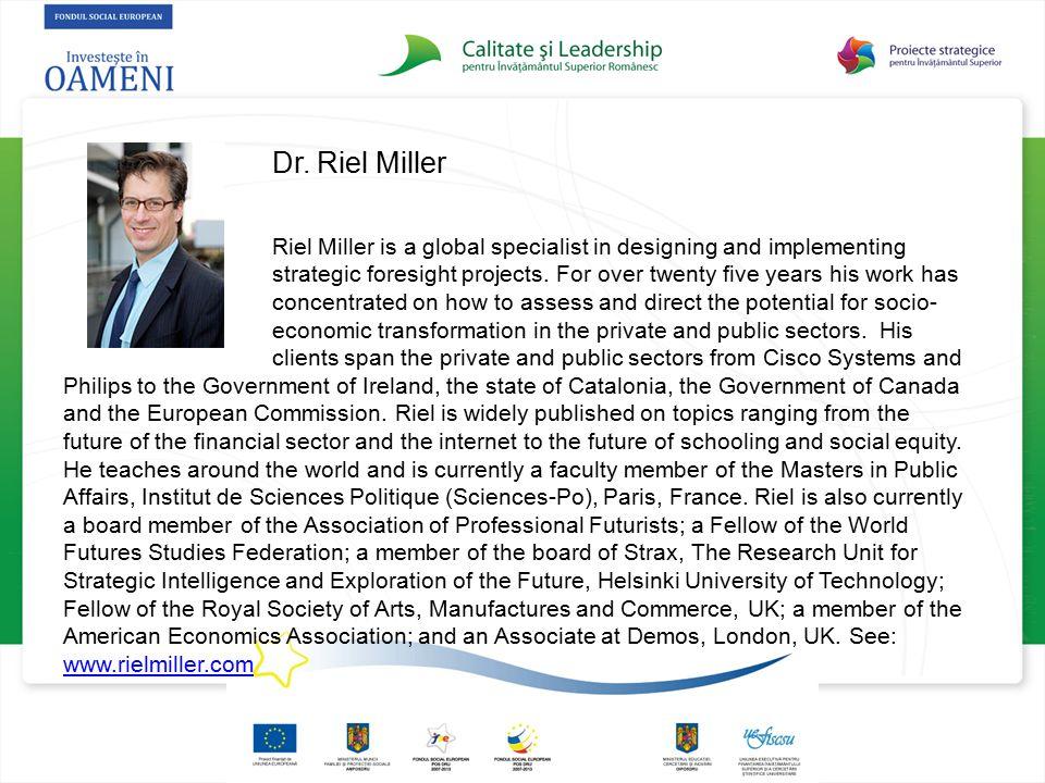 Dr. Riel Miller