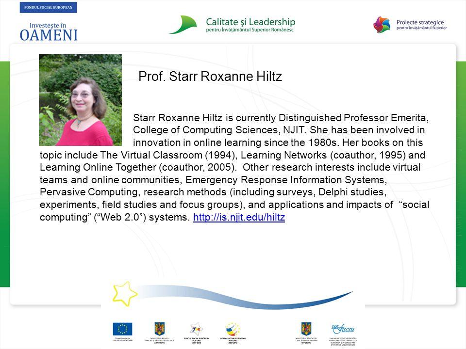Prof. Starr Roxanne Hiltz
