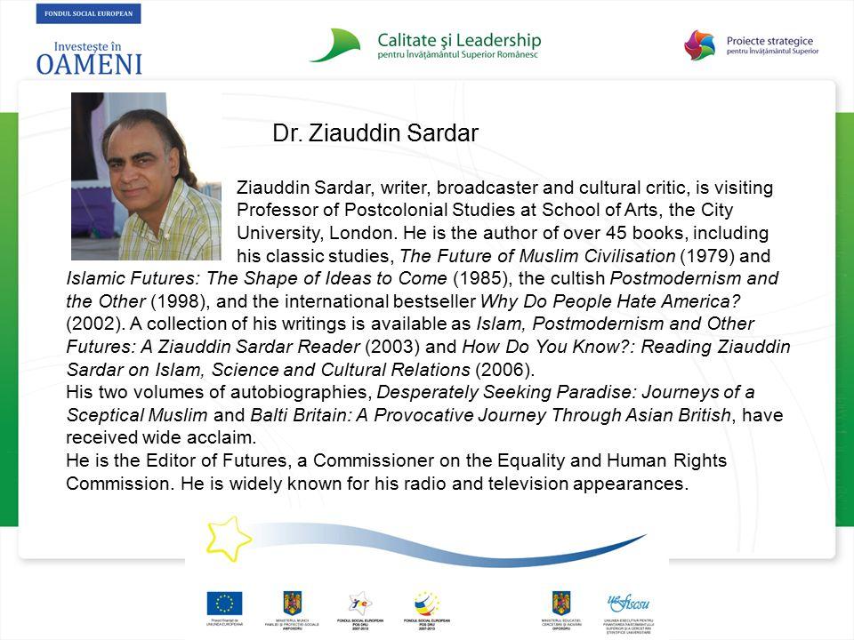 Dr. Ziauddin Sardar